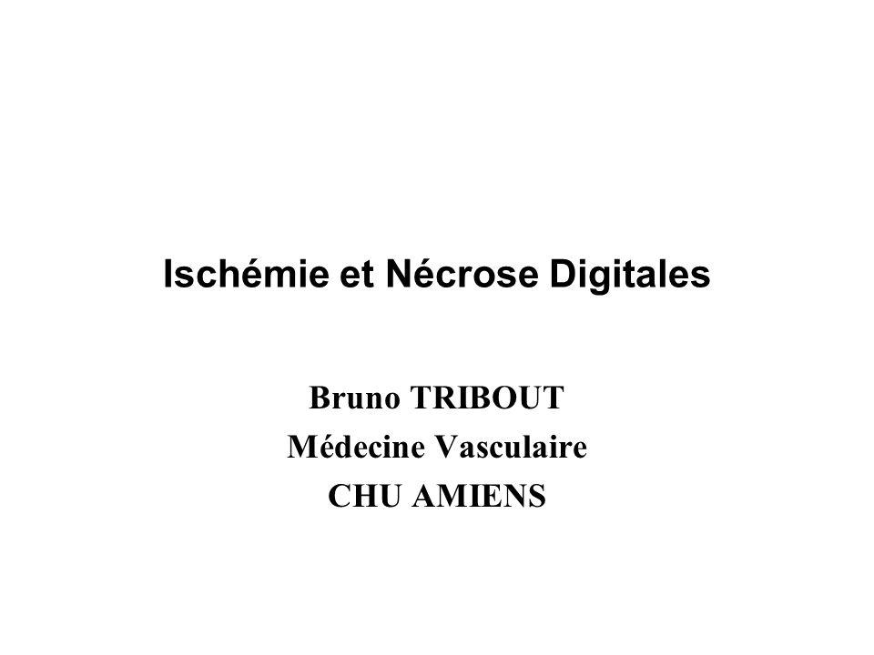 Ischémie et Nécrose Digitales