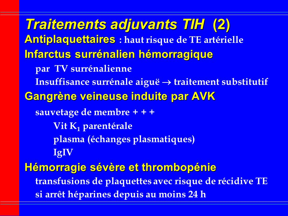 Traitements adjuvants TIH (2)