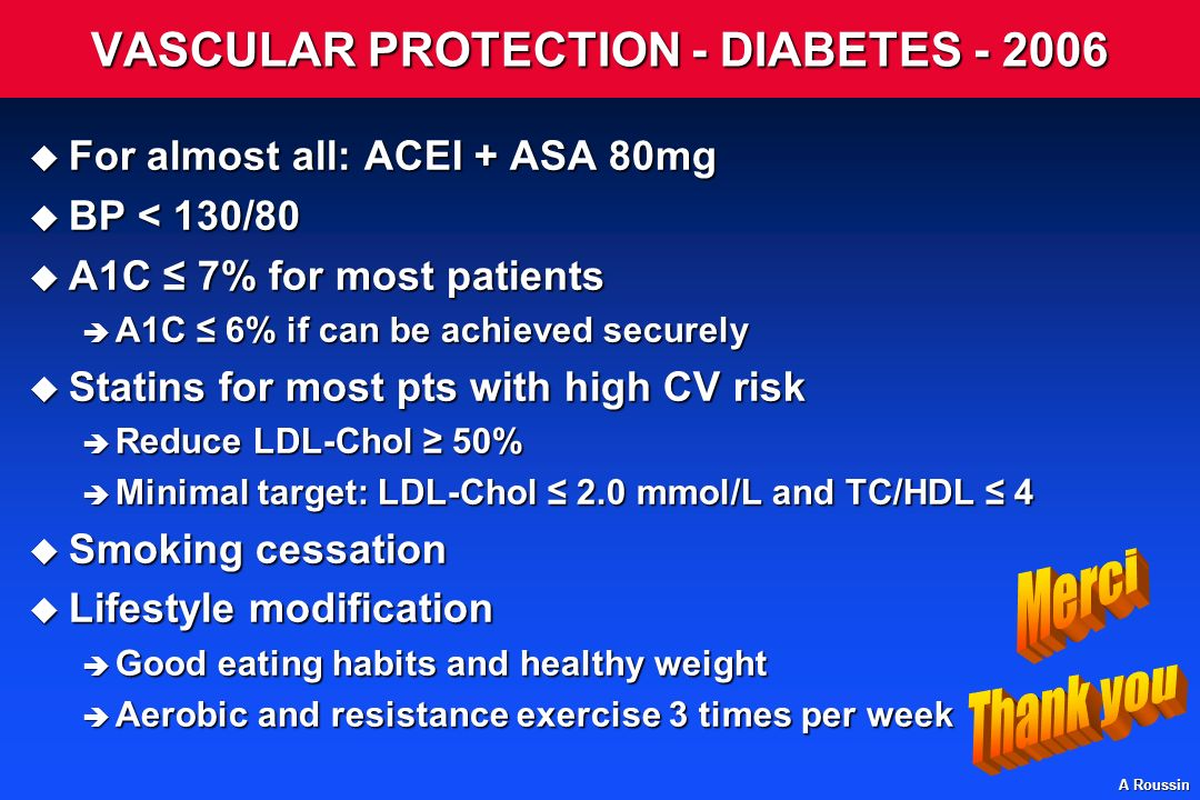 VASCULAR PROTECTION - DIABETES - 2006