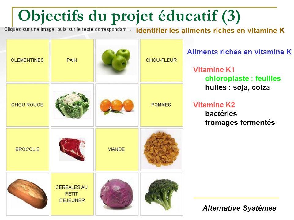 Objectifs du projet éducatif (3)