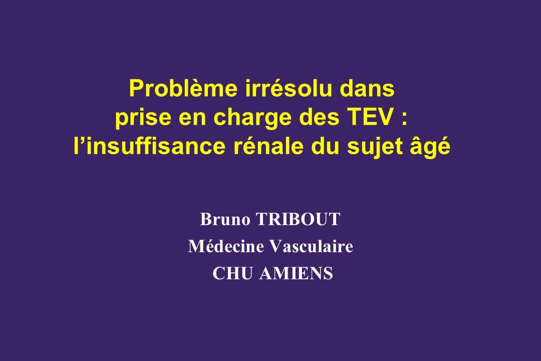 Bruno TRIBOUT Médecine Vasculaire CHU AMIENS