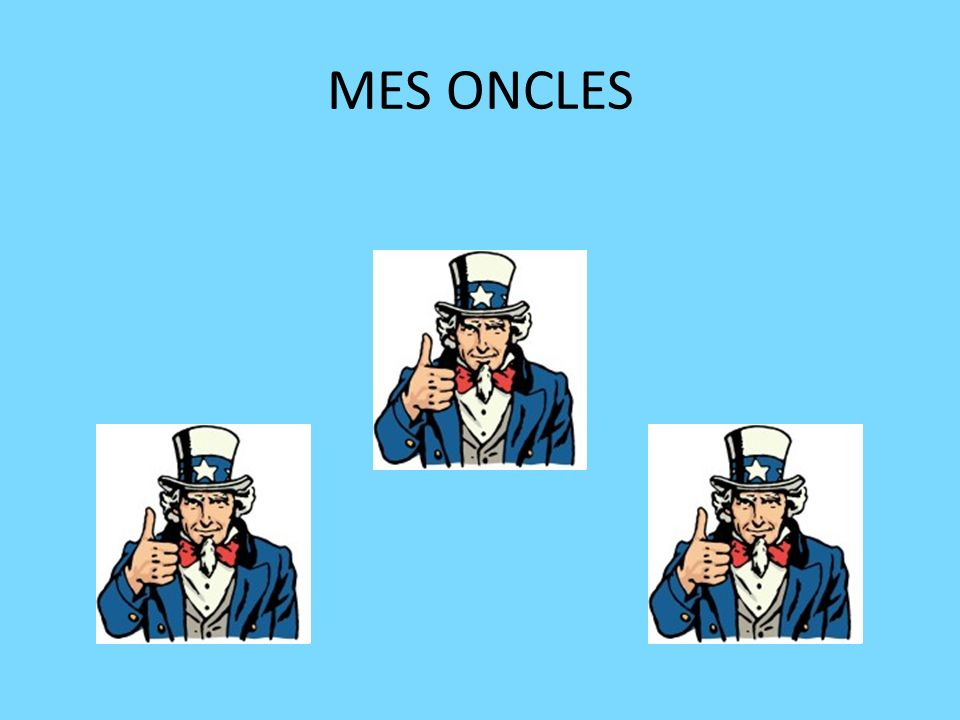 MES ONCLES