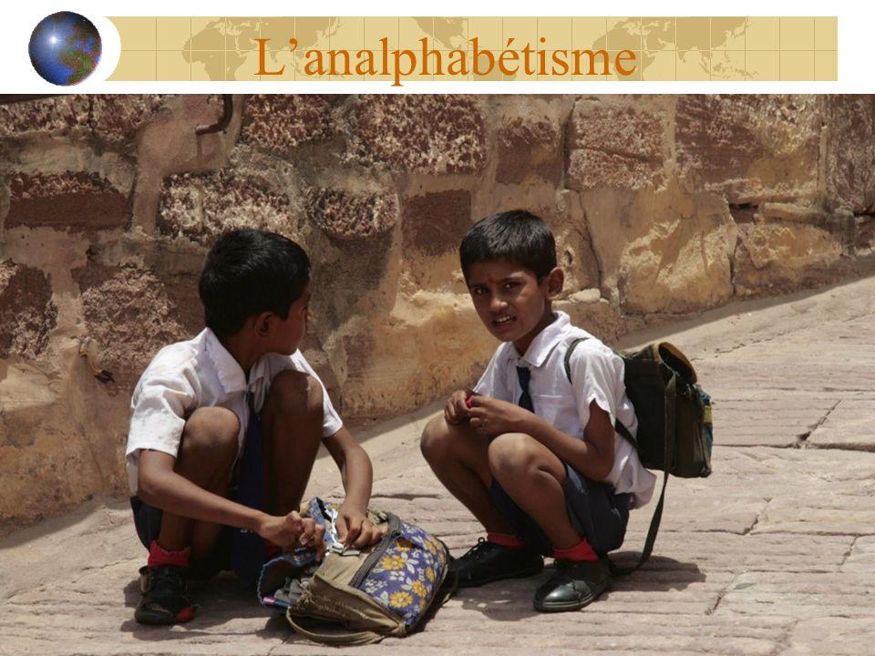 L'analphabétisme