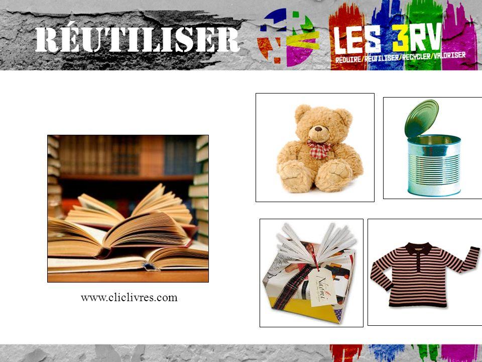 RÉUTILISER www.cliclivres.com