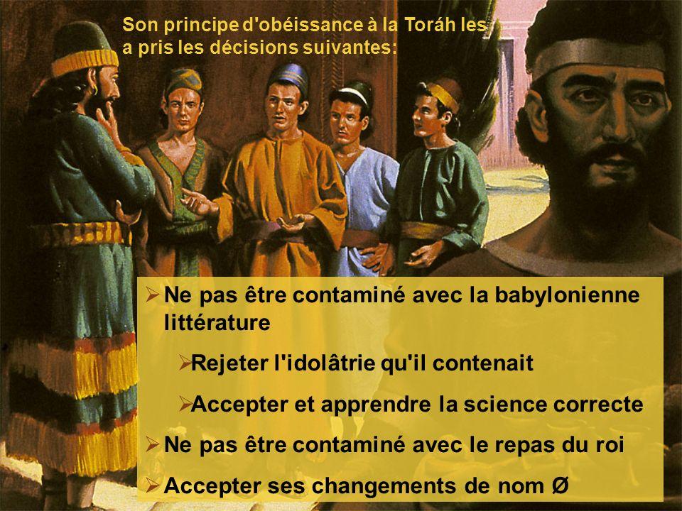 Ne pas être contaminé avec la babylonienne littérature