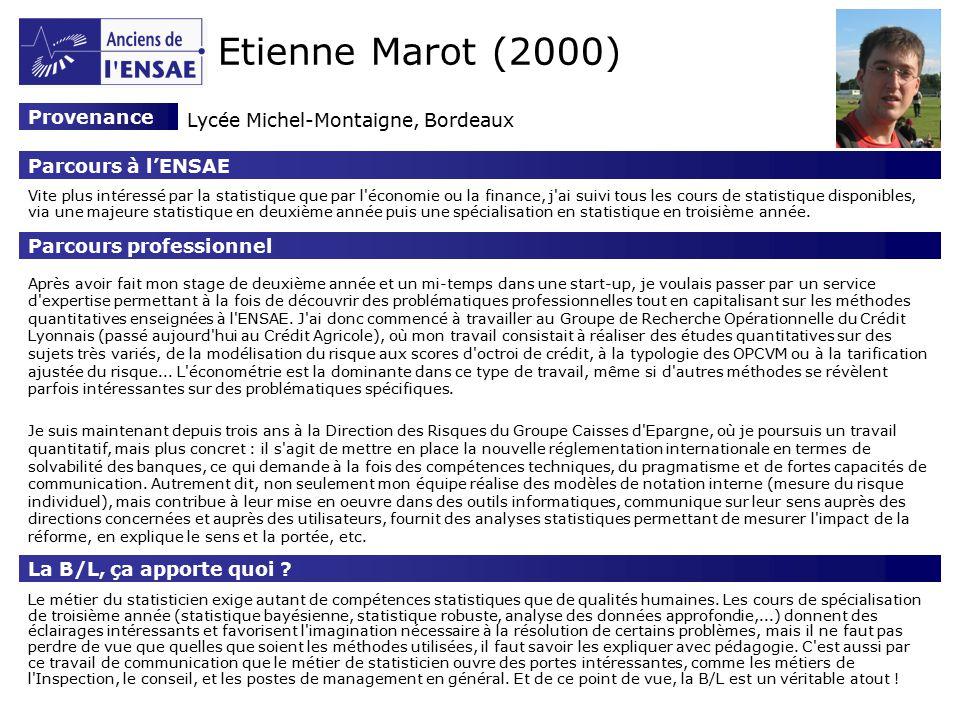 Thibaut de saint pol 2003 provenance lyc e lakanal - Portes ouvertes lycee montaigne bordeaux ...