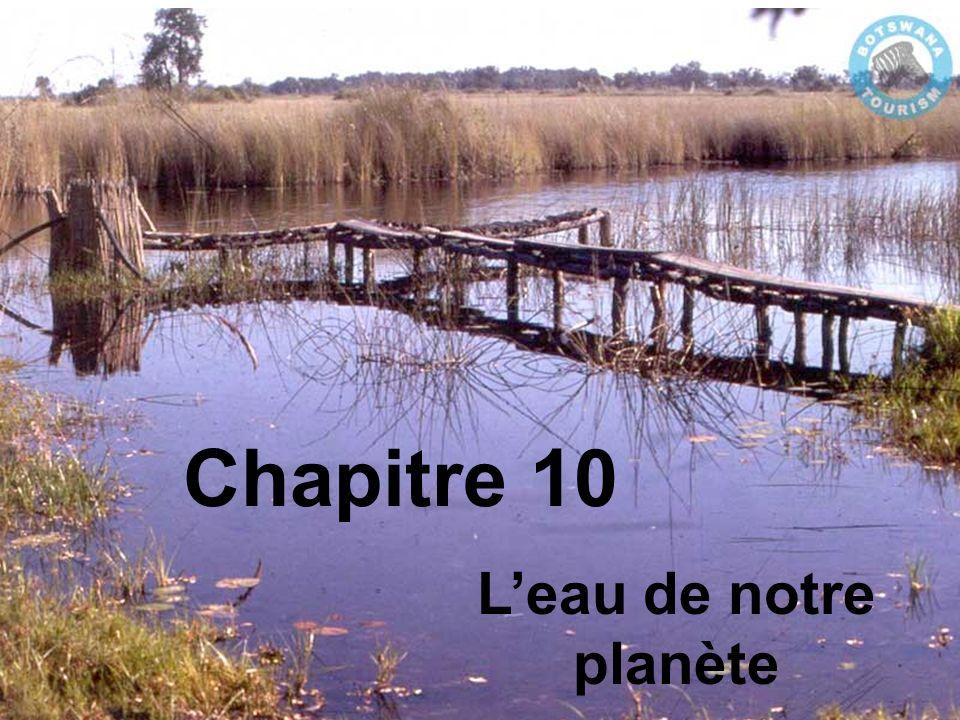 Chapitre 10 L'eau de notre planète