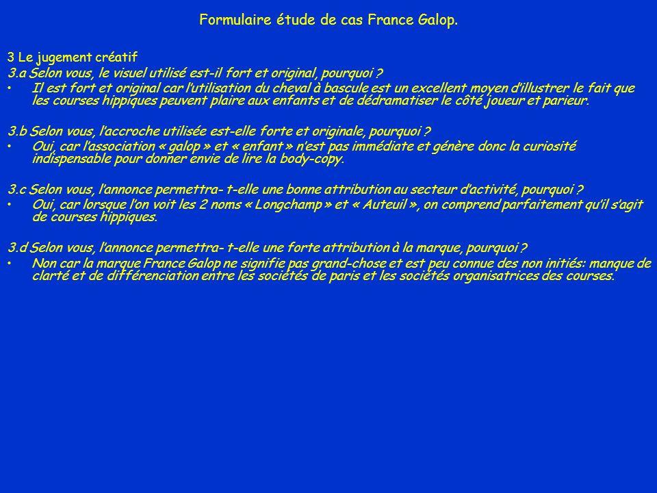 Formulaire étude de cas France Galop.