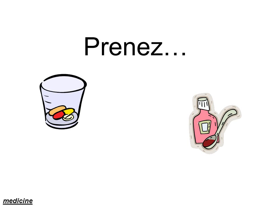Prenez… medicine