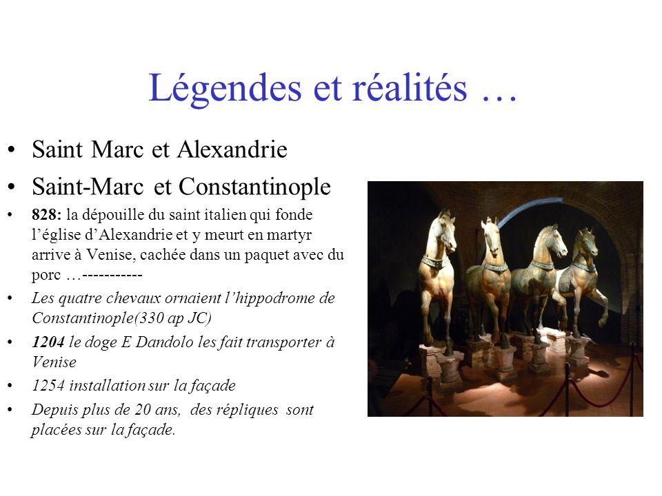 Légendes et réalités … Saint Marc et Alexandrie