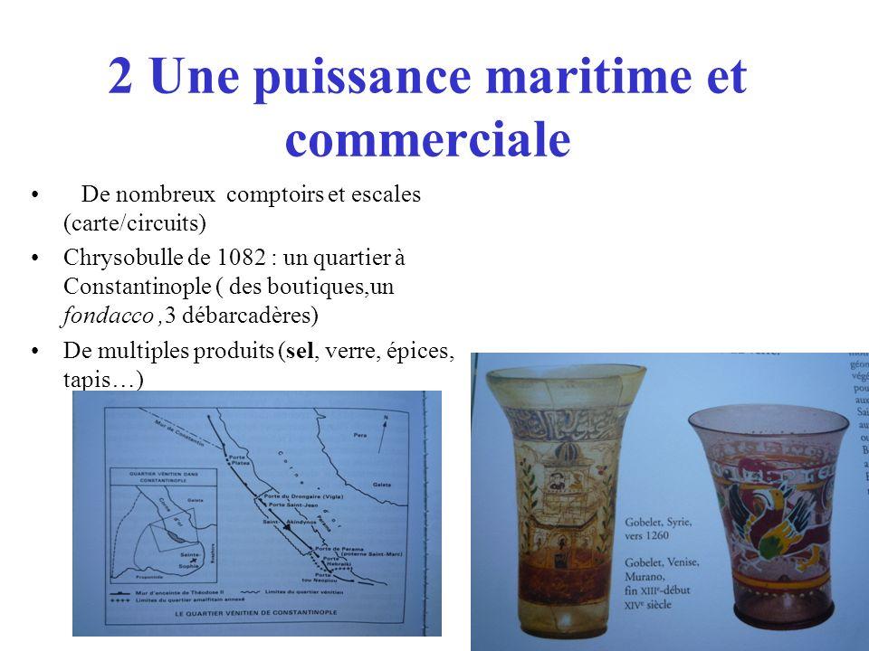 2 Une puissance maritime et commerciale