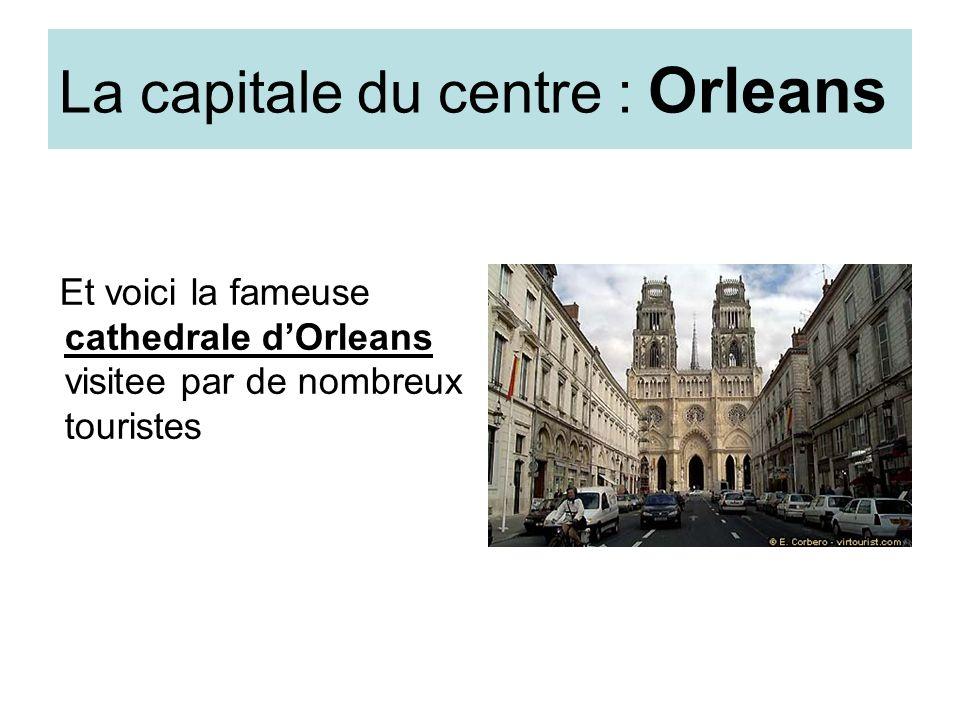 La capitale du centre : Orleans