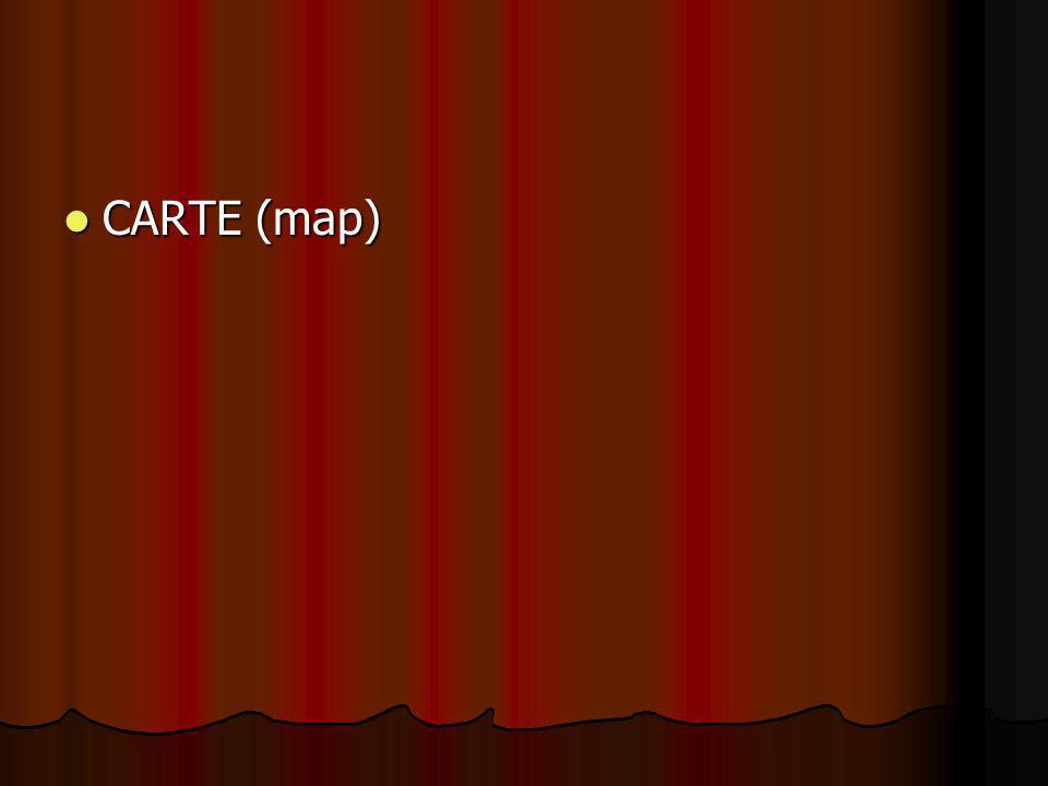 CARTE (map)