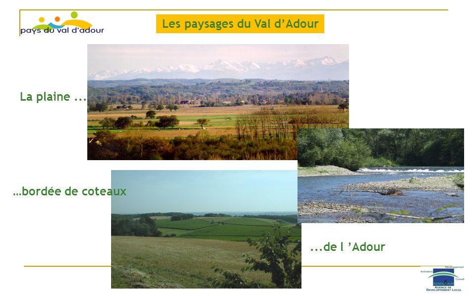 Les paysages du Val d'Adour