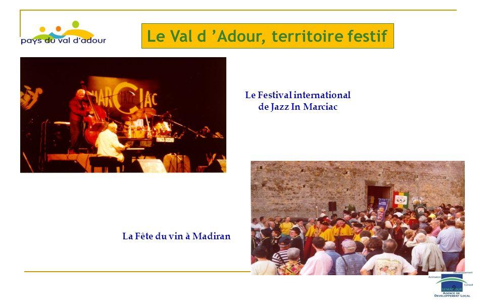 Le Val d 'Adour, territoire festif
