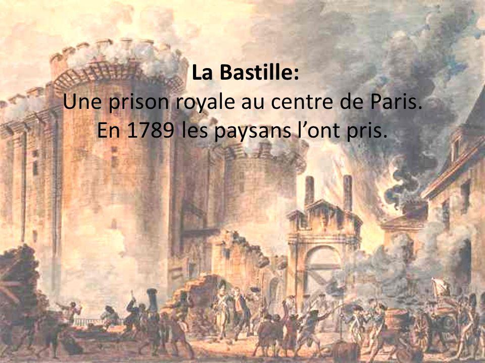 La Bastille: Une prison royale au centre de Paris