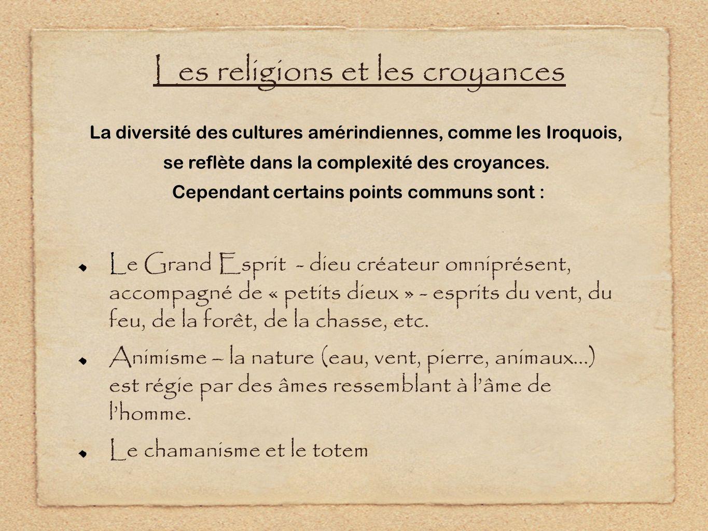 Les religions et les croyances