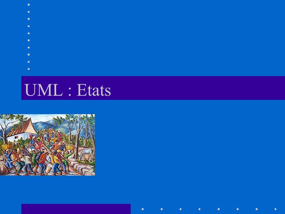 UML : Etats