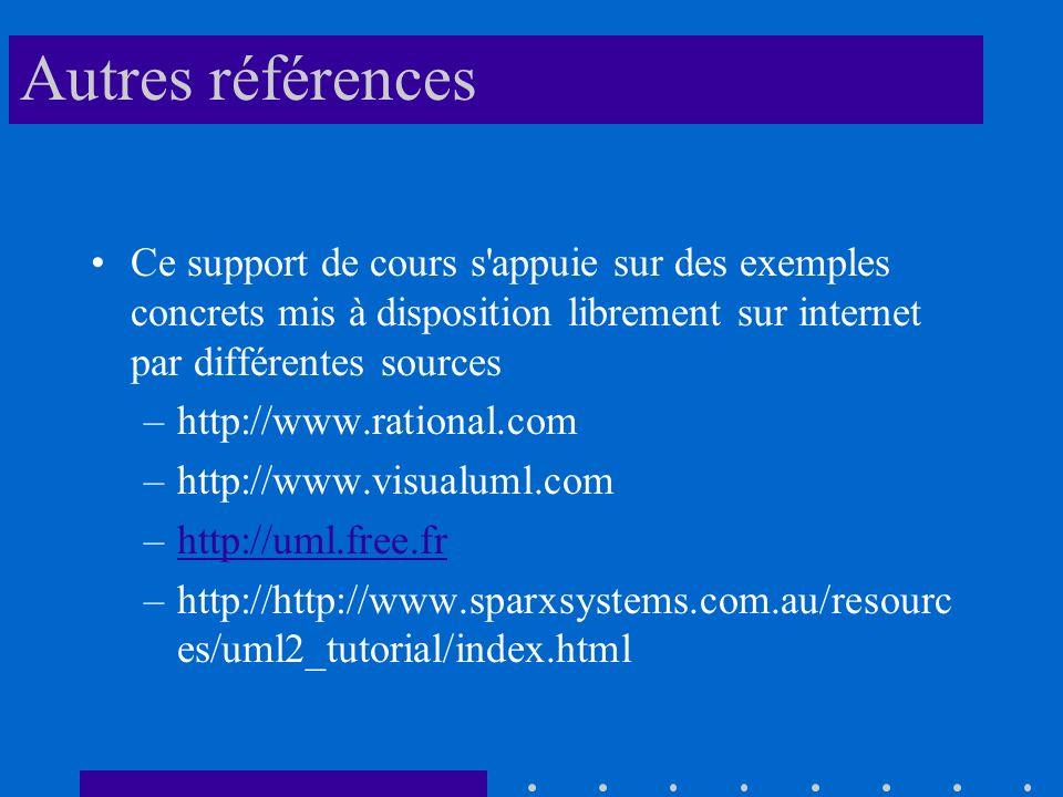 Autres références Ce support de cours s appuie sur des exemples concrets mis à disposition librement sur internet par différentes sources.