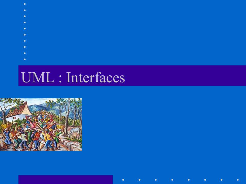UML : Interfaces