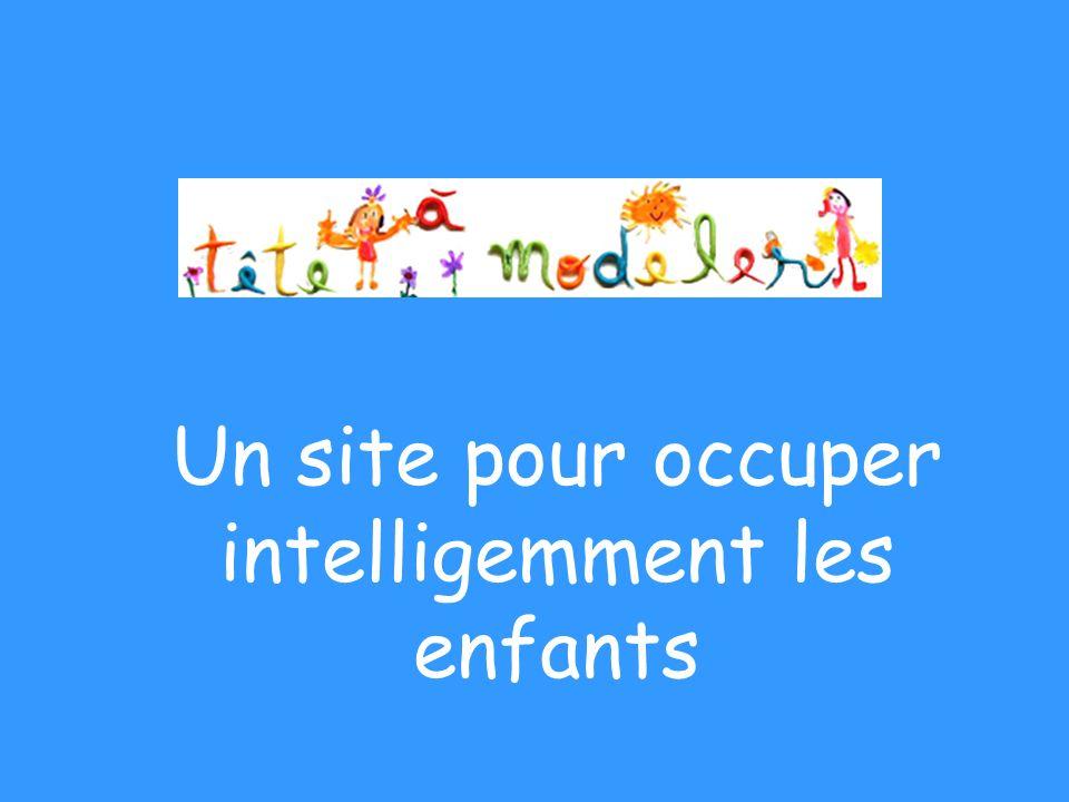 Un site pour occuper intelligemment les enfants