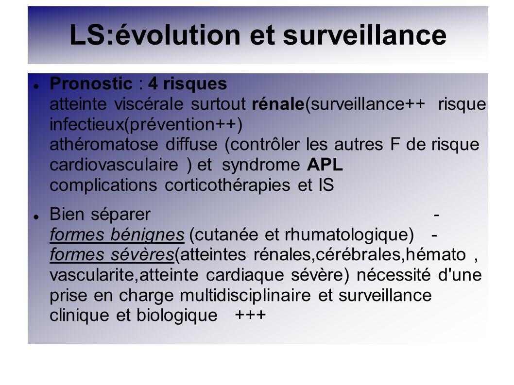LS:évolution et surveillance