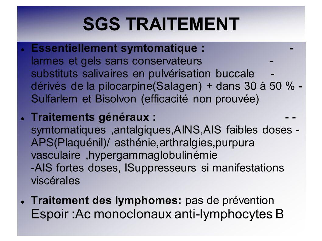 SGS TRAITEMENT