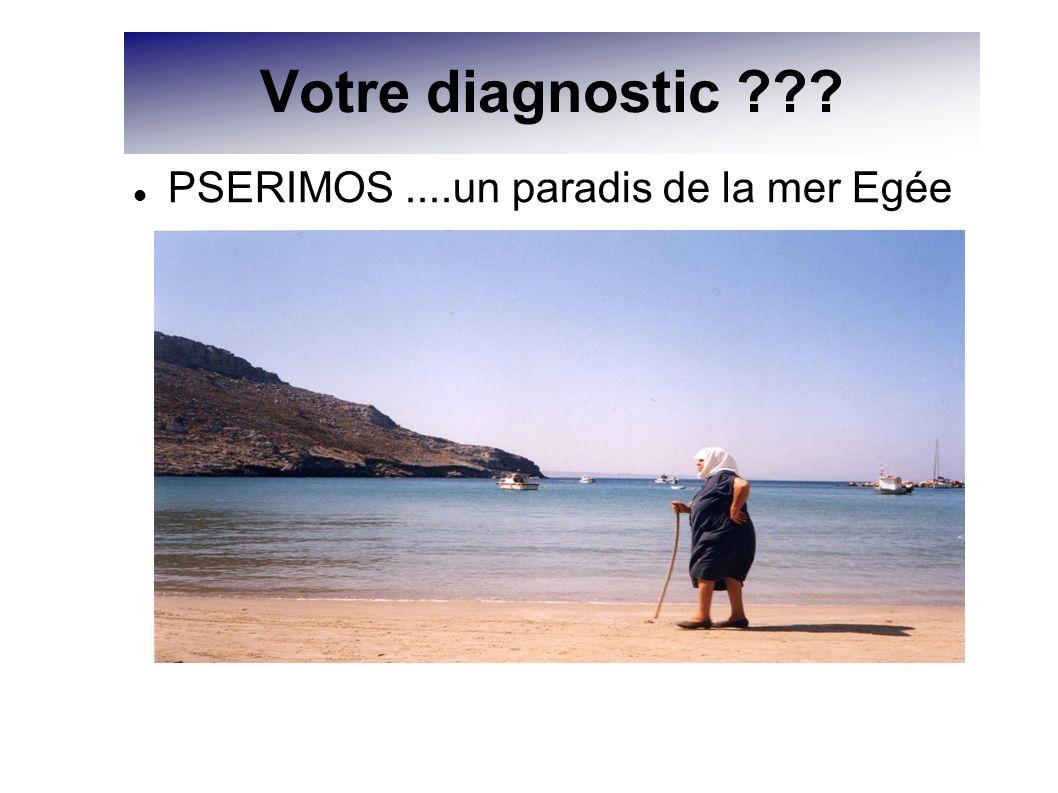 Votre diagnostic PSERIMOS ....un paradis de la mer Egée