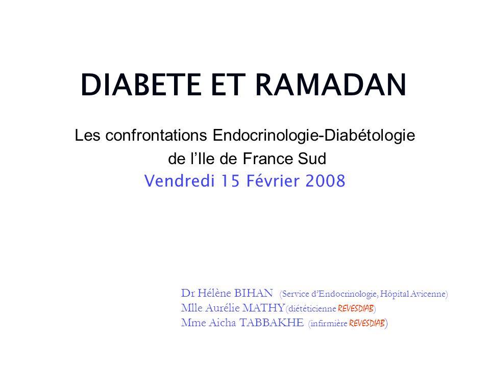 Les confrontations Endocrinologie-Diabétologie