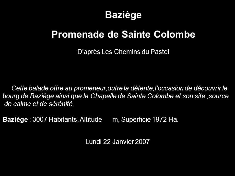 Promenade de Sainte Colombe