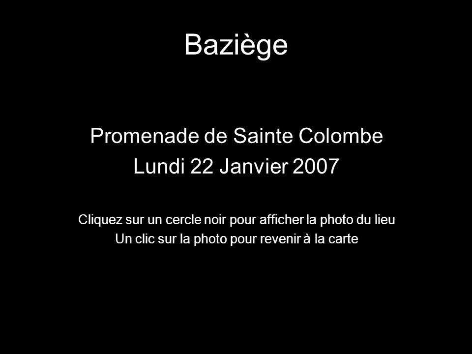 Baziège Promenade de Sainte Colombe Lundi 22 Janvier 2007