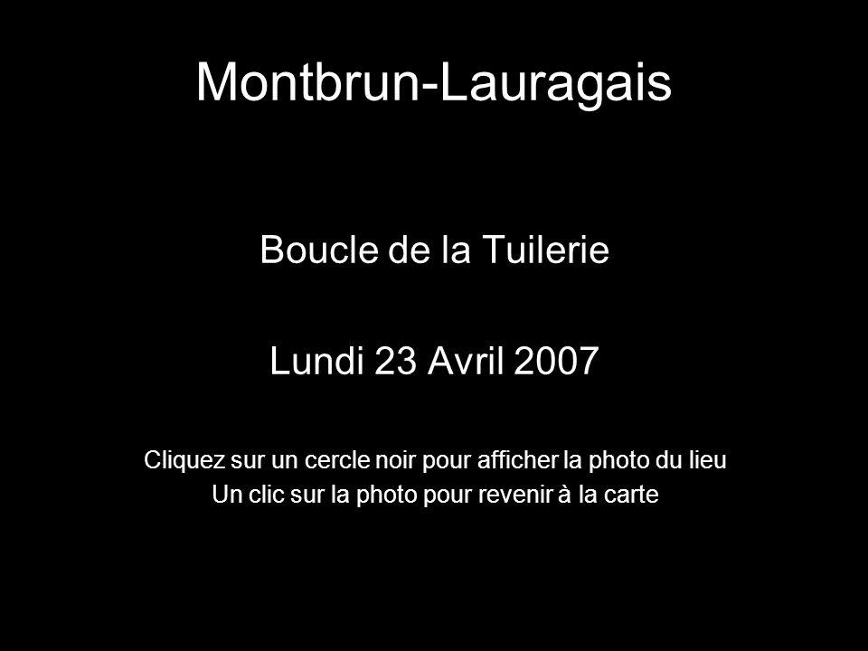 Montbrun-Lauragais Boucle de la Tuilerie Lundi 23 Avril 2007
