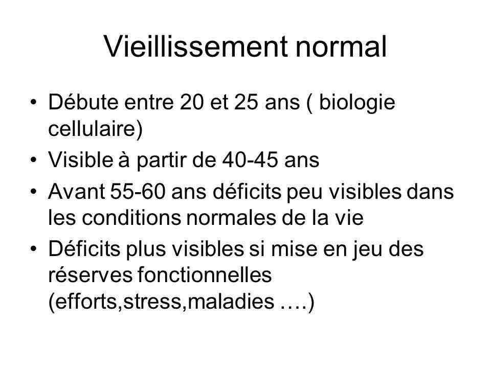 Vieillissement normal