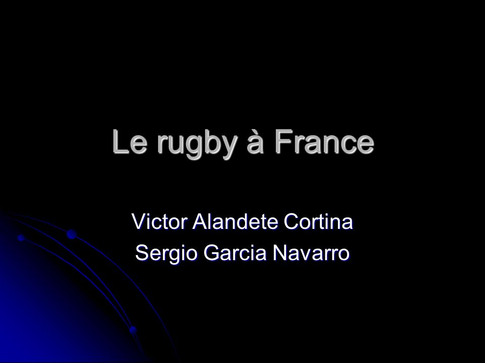 Victor Alandete Cortina Sergio Garcia Navarro