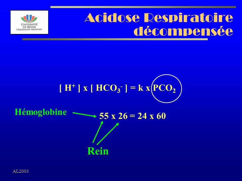 Acidose Respiratoire décompensée