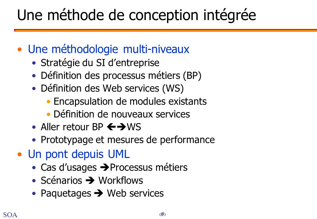 Business integration besoins en business integration ppt t l charger - Definition de conception ...