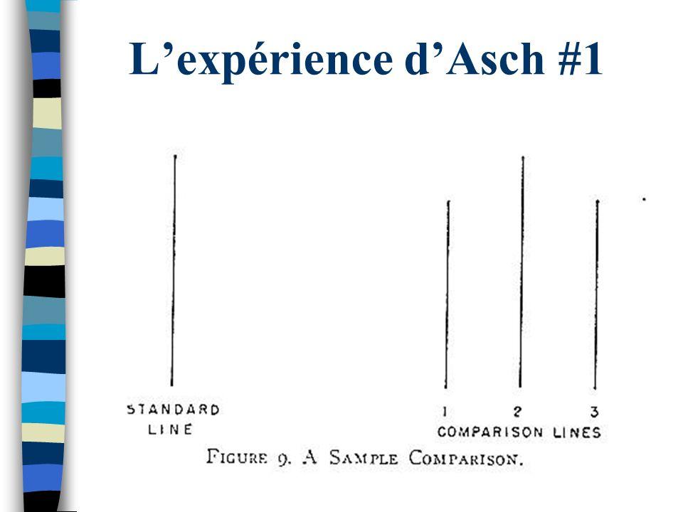 L'expérience d'Asch #1