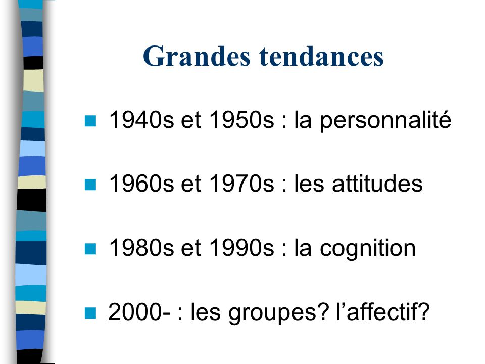 Grandes tendances 1940s et 1950s : la personnalité