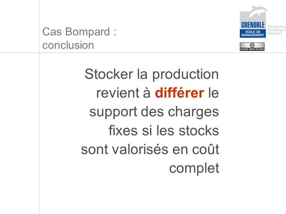 Cas Bompard : conclusion