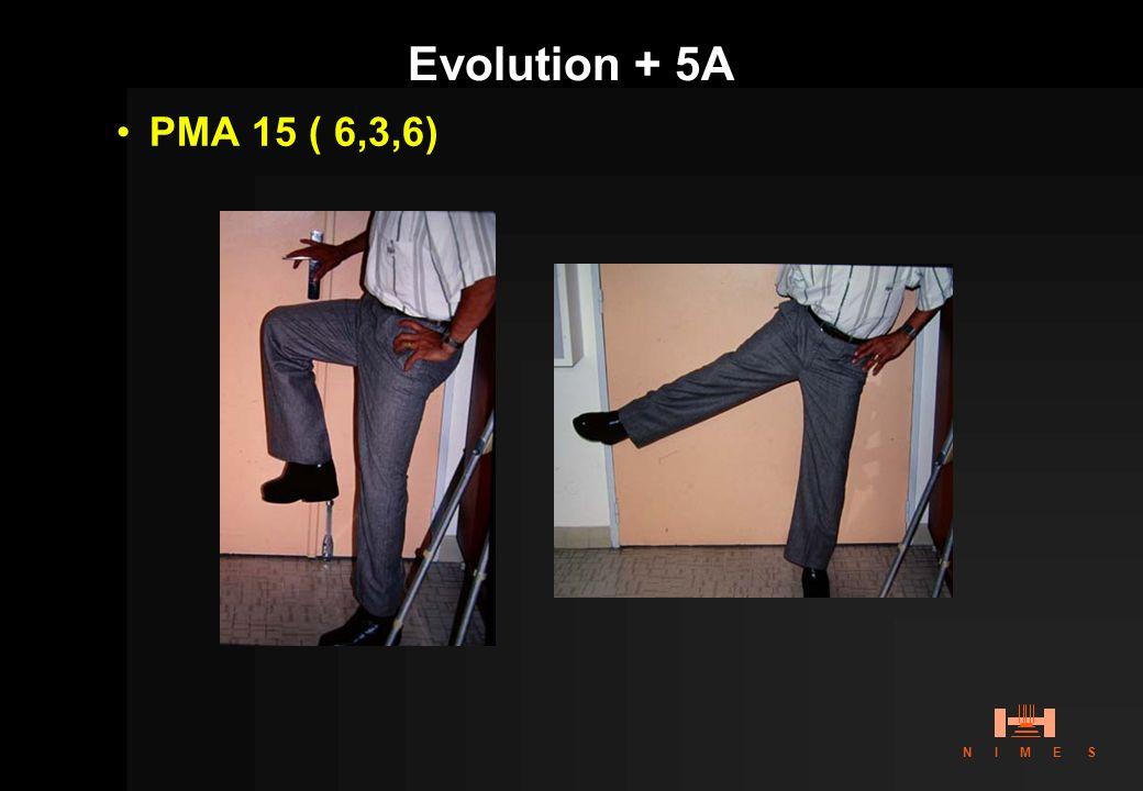 Evolution + 5A PMA 15 ( 6,3,6)
