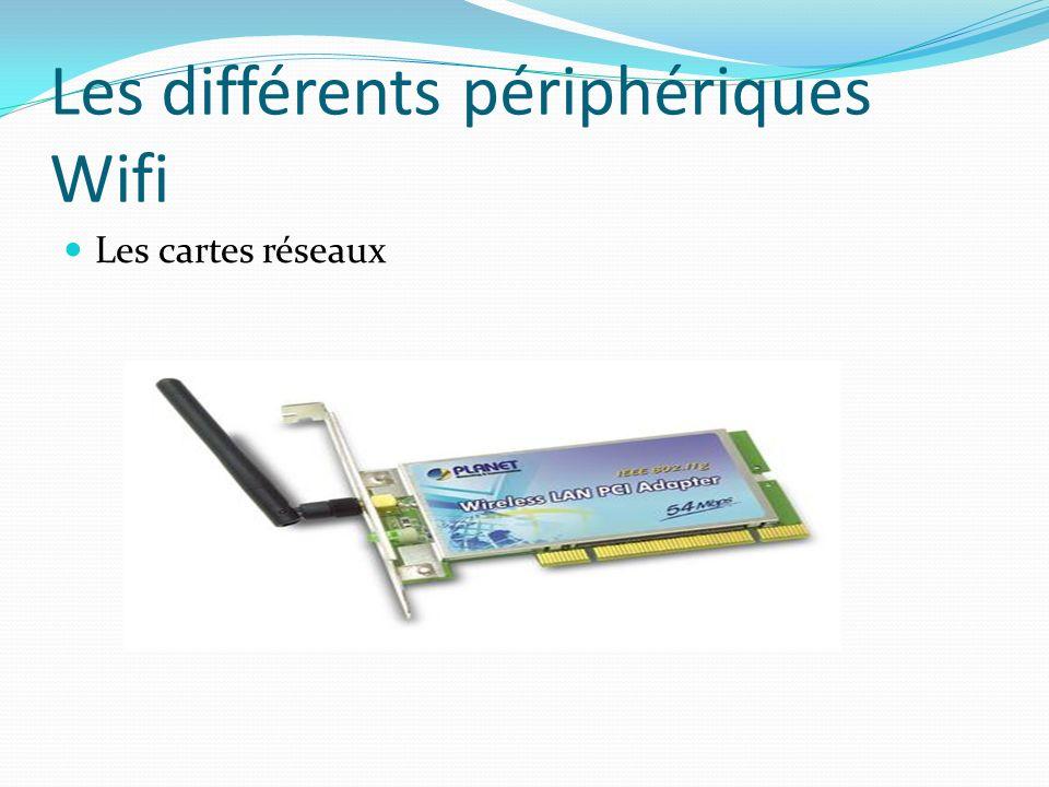 Les différents périphériques Wifi