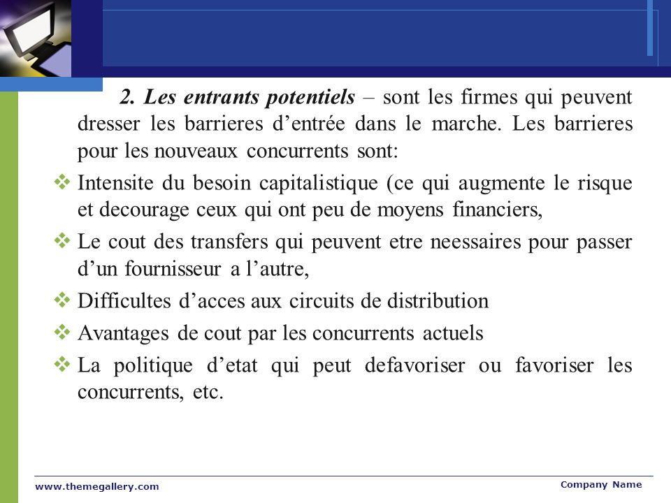 Difficultes d'acces aux circuits de distribution