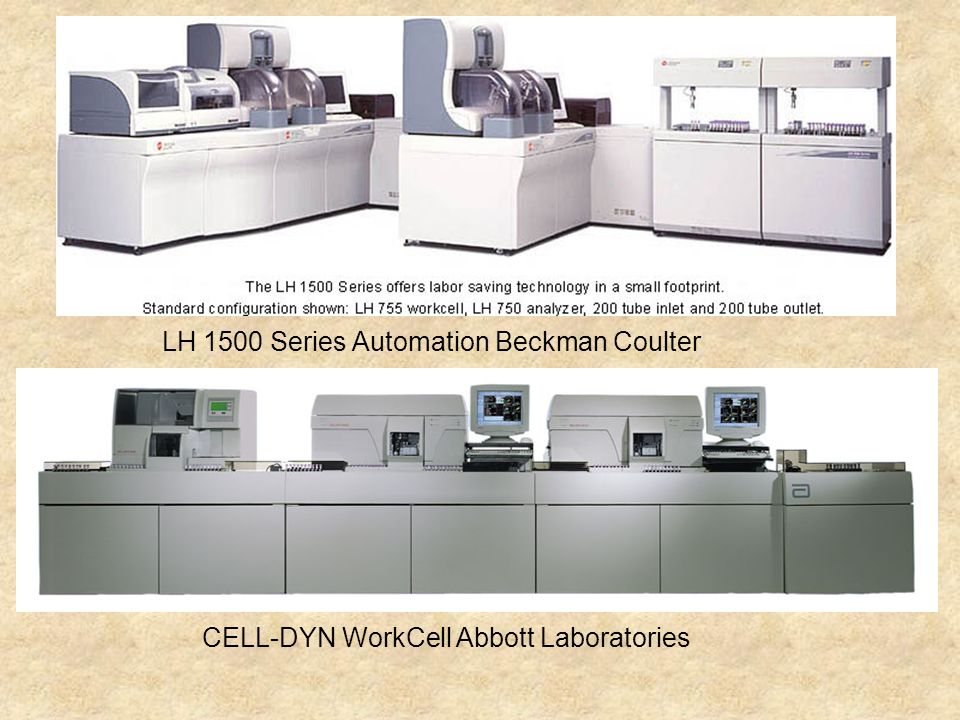 LH 1500 Series Automation Beckman Coulter
