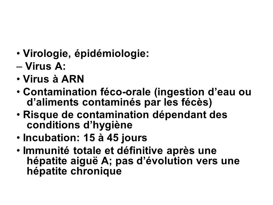 • Virologie, épidémiologie: