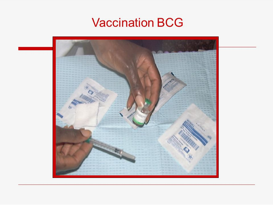 Vaccination BCG