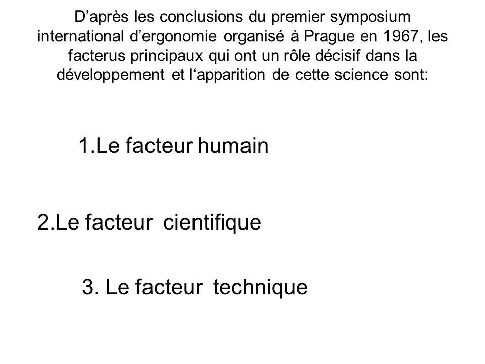 2.Le facteur cientifique