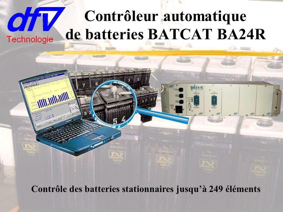 Contrôleur automatique de batteries BATCAT BA24R