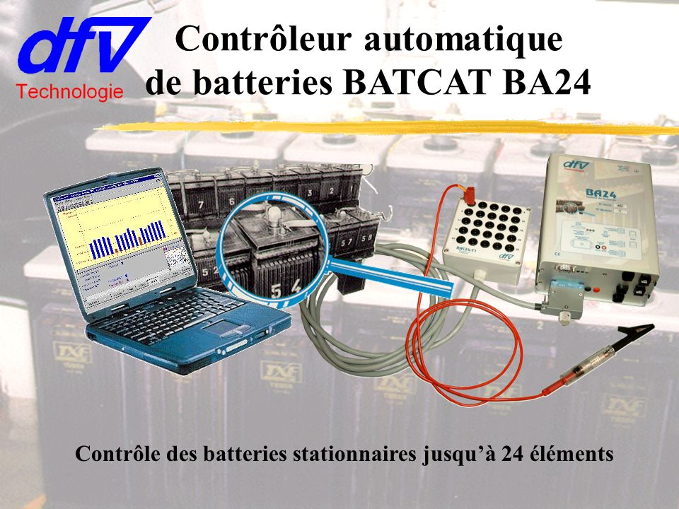 Contrôleur automatique de batteries BATCAT BA24
