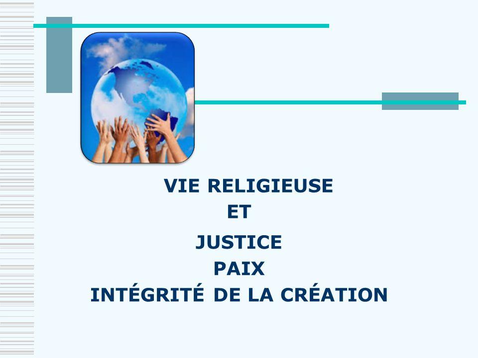 INTÉGRITÉ DE LA CRÉATION