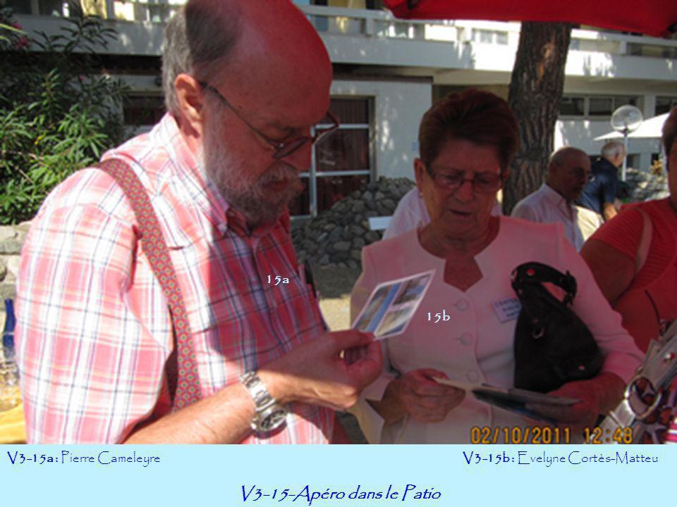 V3-15-Apéro dans le Patio 15a 15b V3-15a : Pierre Cameleyre